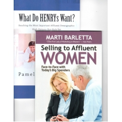 Connecting with Affluent Consumers (Two books)