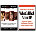 Black Matters two-volume set by Pepper Miller