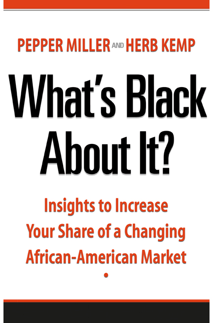 book cover image for What's Black About It?